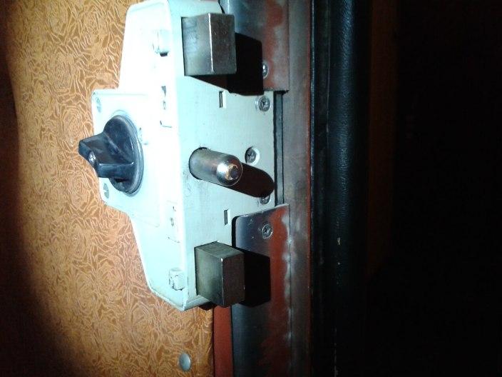 Вскрытие, ремонт, замена замка под дисковый ключ