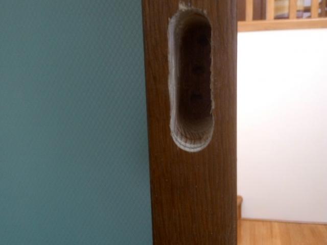 Врезка замка в деревянную межкомнатную дверь